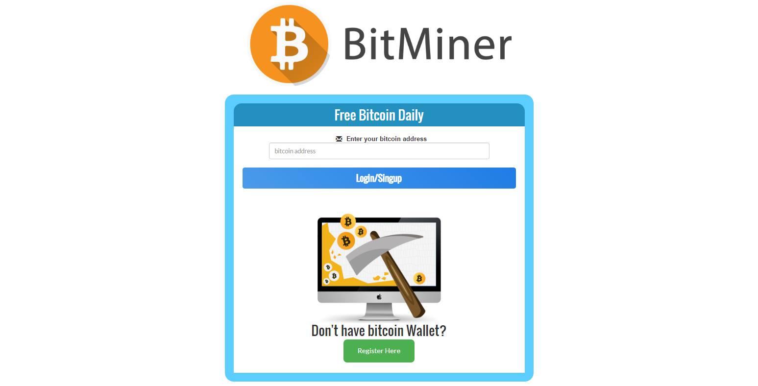 [UPDATED] Bitcoin Miner Nicher Landing Page