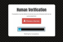 human verification template