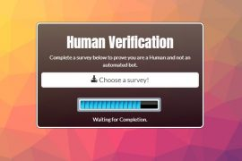 Human Verification Template 1